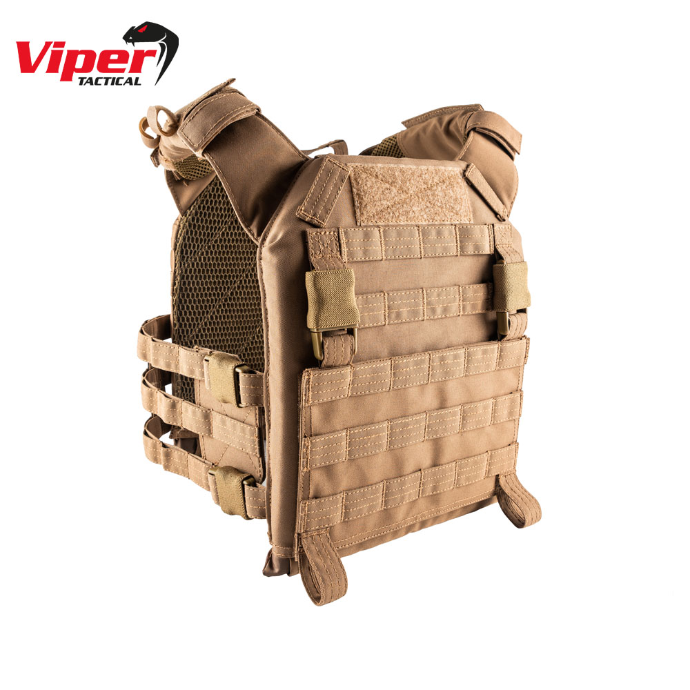 VX Buckle Up Plate Carrier Dark Coyote Viper Tactical